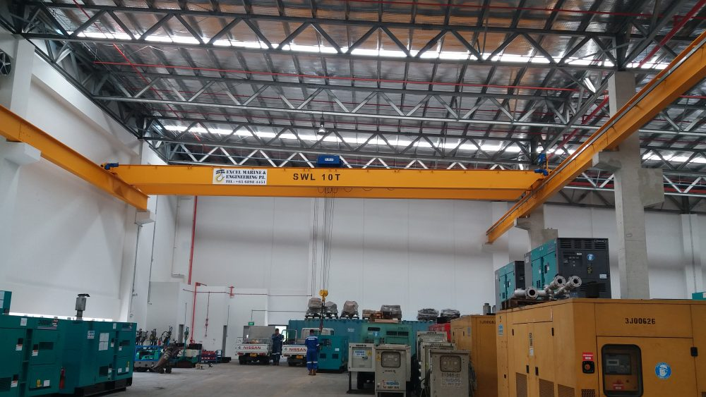 Overhead Crane – EXCEL MARINE & ENGINEERING PTE LTD