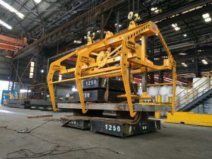 Mechanical Structural Steel Mesh Grab Load Testing