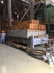 Steel Counter Weight & Skid Beam