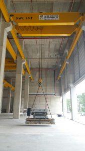 Overhead Crane Load Testing