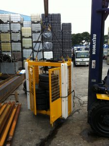 Material Cage Load Testing