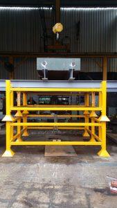 Material Rack Load Testing