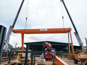 Upgrading of Gantry Crane from 25 Ton to 30 Ton