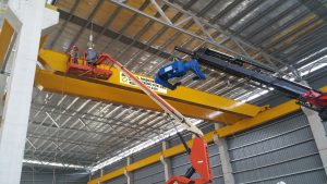 Installation of Overhead Crane