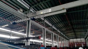 Overhead Crane with Retractable System