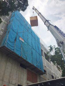 Installation of Goods Lift