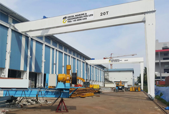 Double Girder Semi Gantry